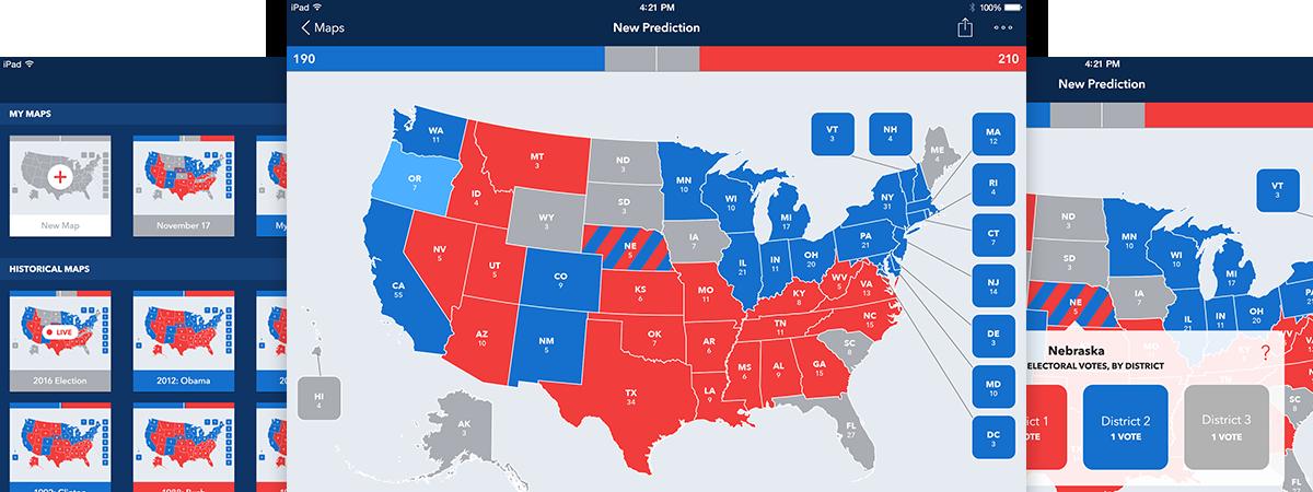 Electoral 2016: Create Presidential Election Electoral ...